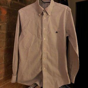 Brooks Brothers Non Iron Supima Cotton Dress Shirt